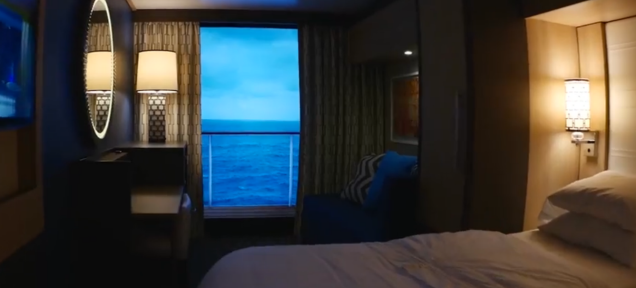 Royal Caribbean's New Virtual Balconies Work