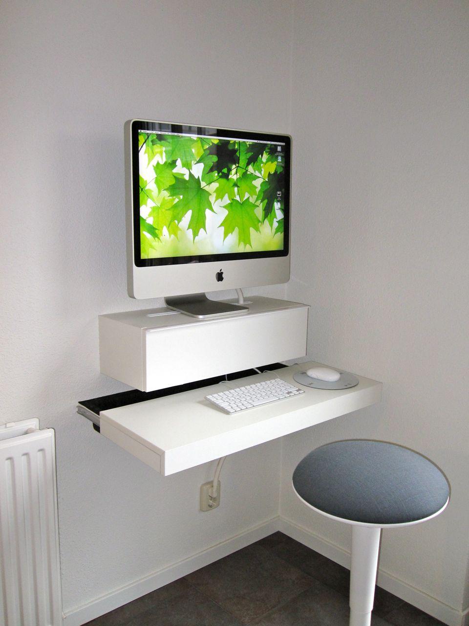 Маленький компьютерный стол - 59 фото идей для дома и фоиса.