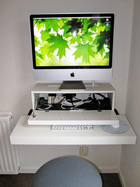 iMac Custom Desk