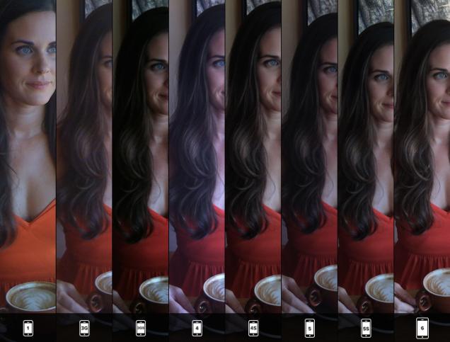 Apple iPhone camera comparison